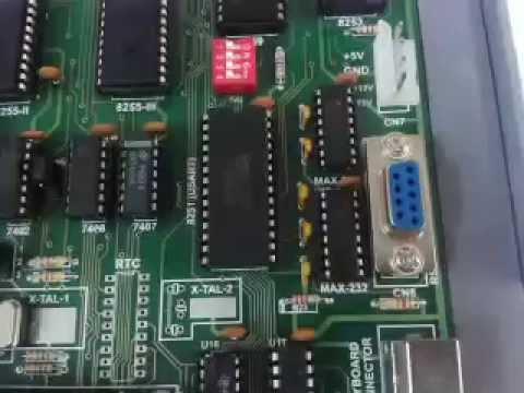 8086 Microprocessor Traner Kit (M86-02) Kitek Technologies Pvt. Ltd.