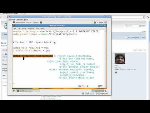 Blocking SPAM using Postfix | HOWTO Stop spam using Postfix Tutorials At Networknuts