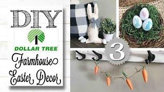 DIY Dollar Tree Easter Decor   FARMHOUSE STYLE
