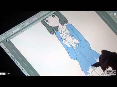 漫画家 Tiv - Drawing with Wacom (DwW)