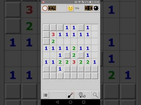 Android Minesweeper Gameplay Demo
