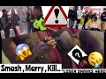 SMASH, MARRY, OR KILL   Public Interview *Loser Shaves His Head*