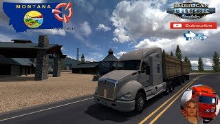 American Truck Simulator (1.36)   Montana Expansion map v0.1.3 Kenworth t680 + DLC's & Mods https://forum.scssoft.com/viewtopic.php?f=194&t=273228  Support me please thanks Support me economically at the mail vanelli.isabella@gmail.com  Roadhunter Trailer