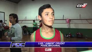 """Luis """"Junior"""" Cruzat: La nueva figura y heredero de Carlos Cruzat en el boxeo chileno"""