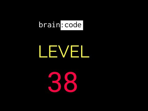 Brain code level 38 solution or walkthrough