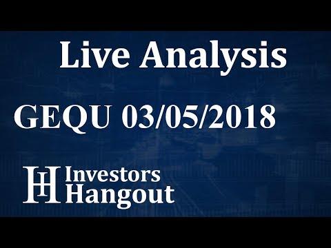 GEQU Stock Global Equity International Inc Live Analysis 03-05-2018
