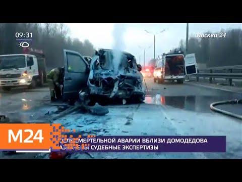 После смертельной аварии вблизи Домодедова назначены судебные экспертизы - Москва 24