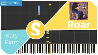 How to play ROAR by Katy Perry | Smart Kids Piano | Kids Piano Tutorials
