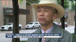 Debate Outburst Making noise On Social Media