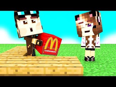 Costruiamo un mcdonald's su minecraft! - casa di minecraft live