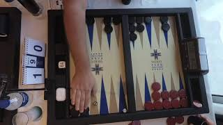 Albert Steg vs Claus Elken   7th Merit Open   Masters