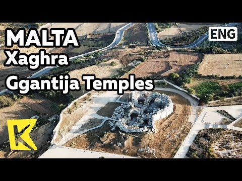 【K】Malta Travel-Xaghra[몰타 여행-샤라]주간티아 신전/Ggantija Temples/Cultural heritage/Stone/Megalithic