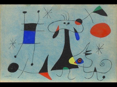 Joan Miro panel interview with MoMA curator and others (1993)