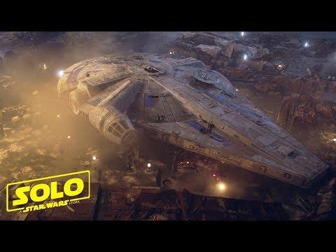 SOLO A Star Wars Story (Han Solo) The Millennium Falcon Mini Feature