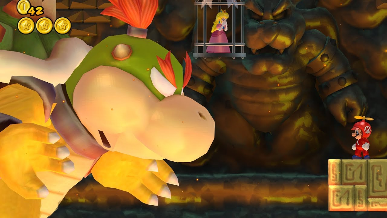 Baby Bowser In New Super Mario Bros Wii