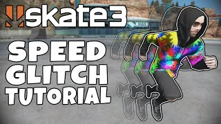 How To Do The Knockback Glitch AND The Running Speed Glitch - Skate 3 Tutorial
