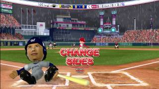 MLB Bobblehead Pros: Brewers at Reds in rain