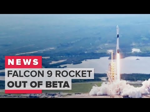 SpaceX's Falcon 9 rocket is out of beta (CNET News)