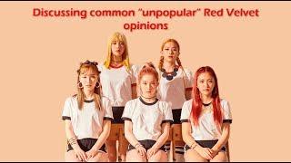 """Unpopular"" Red Velvet opinions"