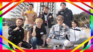 お笑い芸人のアキラ100%が17日、横浜市内で行われたTBS系スポーツバラエ...