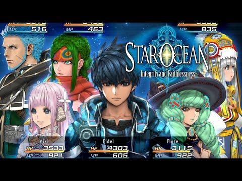 Star Ocean 5 : Integrity and Faithlessness - Gameplay, Personagens e um Pouco da História no PS4