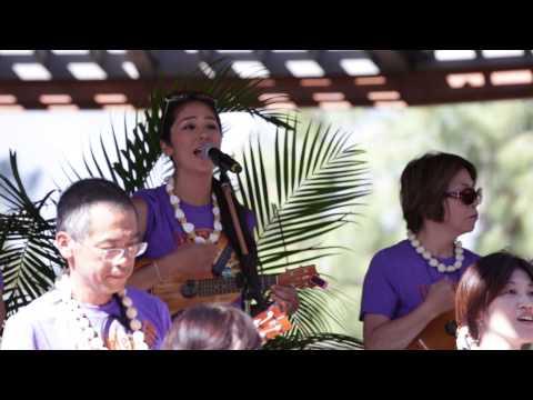 Ukulele Festival Hawaii 2015 -- Yamaha Music School (Japan)