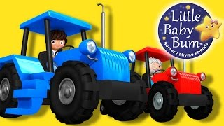 Tractor Song! | Nursery Rhymes | Original Song By LittleBabyBum! | ABCs and 123s