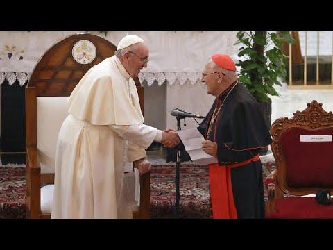 شاهد: البابا فرنسيس يحظى باستقبال حار في العراق  - نشر قبل 4 ساعة