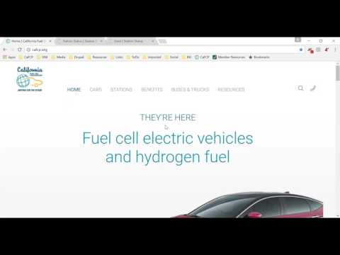 California Hydrogen Station Network Update Webinar - March 22, 2017