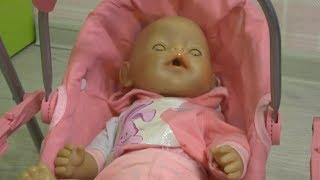 ЛЮЛЬКА для ляльки БЕБІ БОН розпакування Відео для дітей ляльки baby born Ляльки Пупсики