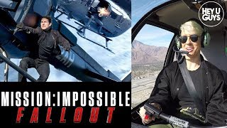 How did Tom Cruise pull off that Helicopter Stunt in Mission Impossible Fallout? We find out...