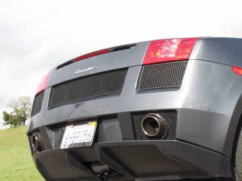 2006 Lamborghini Gallardo Engine Sound and Rev