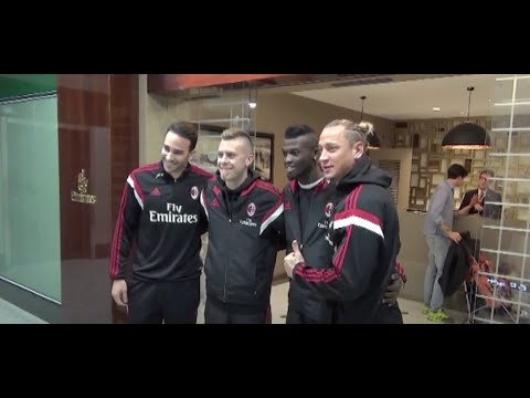AC Milan for the Dubai Football Challenge 2014, Day One! | AC Milan Official
