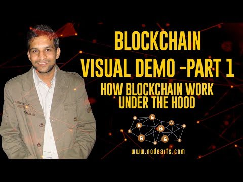 Bockchain Demo | Visual Demo | How Blockchain Work Under The Hood | Hindi