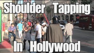 Public Prank - Shoulder Tapping In Hollywood