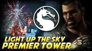 Mortal Kombat X - Premier Tower: Light Up The Sky (Jax)