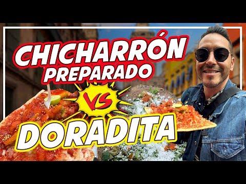 Los Famosos CHICHARRONES PREPARADOS del Centro Histórico.