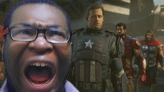 IT LOOKS GOOD TO MEEEE!!!! Marvel's Avengers - 'A-Day' Official Reveal Trailer REACTION!!!