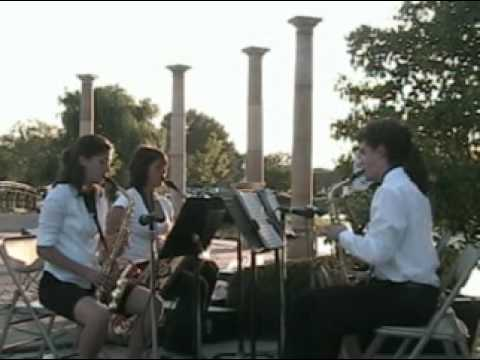 Jericho, Cousino High School Saxophone Quartet