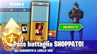 Shoppo TUTTO il PASS BATTAGLIA 6!! 100€ per NUOVI BALLI e NUOVE SKIN! W/ LosAmigos - Fortnite ITA!