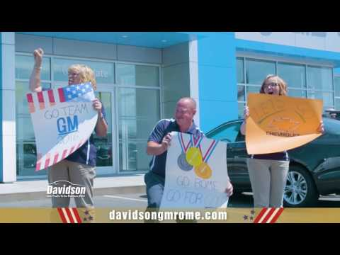 Davidson Of Rome - Take Home The Gold - Chevy Cruze