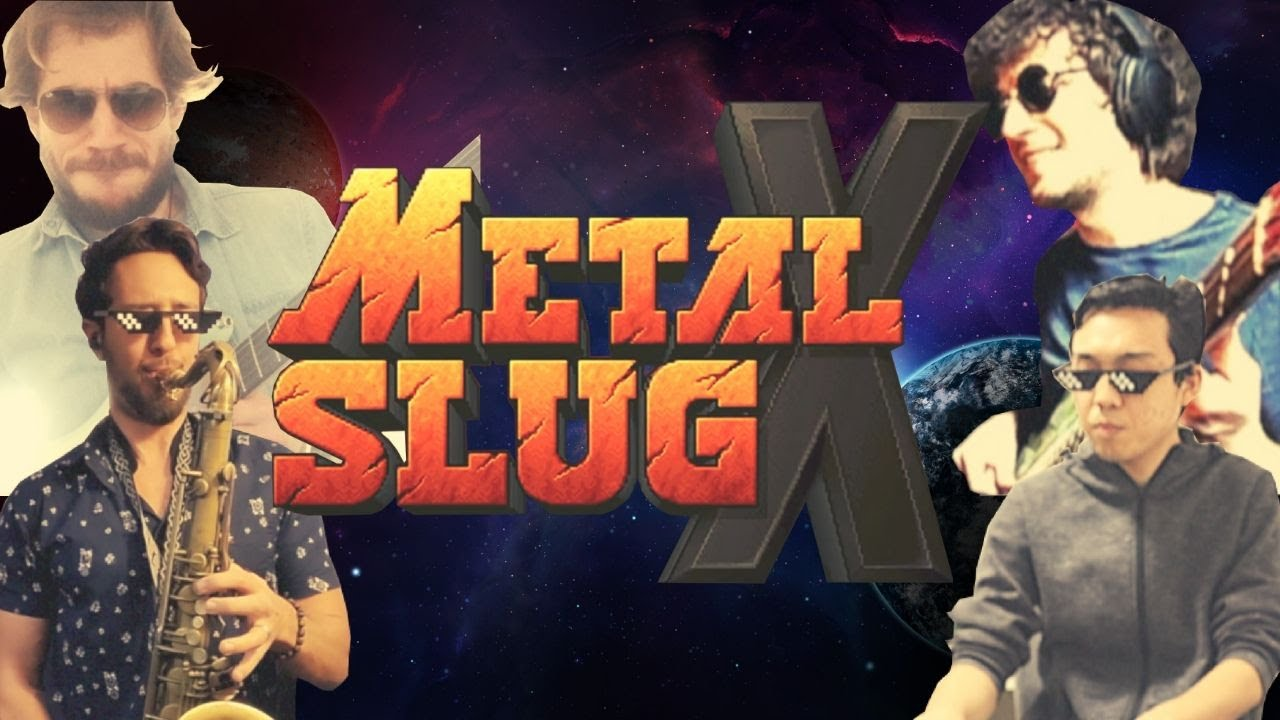 Metal Slug X - Living On The Deck (OST Cover) Mission 3 Music