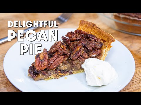 EASY Pecan Pie Recipe Made From Scratch, Without Corn Syrup