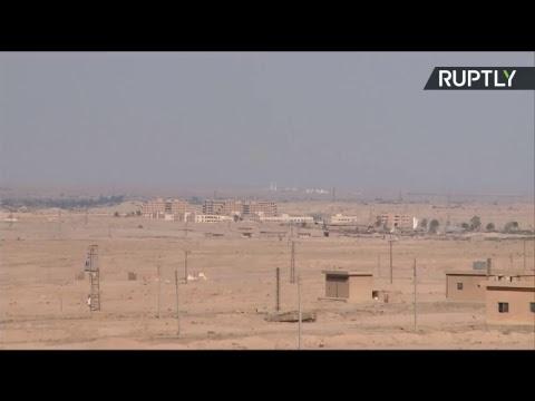 En direct depuis les banlieues de Deir ez-Zor libérée de Daesh
