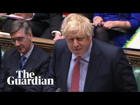 PMQs: Boris Johnson takes questions in parliament – watch live
