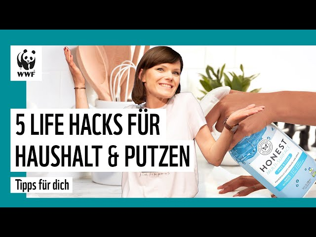 5 Life Hacks für Haushalt & Putzen - Tipps und Tricks im Alltag für die Umwelt   WWF Deutschland