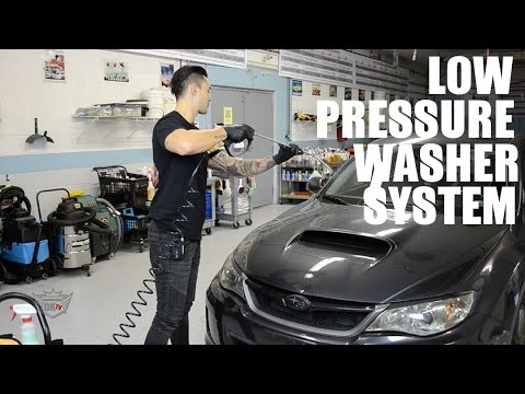 Low Pressure Washer System For Auto Detailing Youtube
