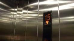 Amazing 2006 KONE Minispace Fast Traction Elevators/Lifts @ Cirrus Tower, Vuosaari, H:ki, Finland