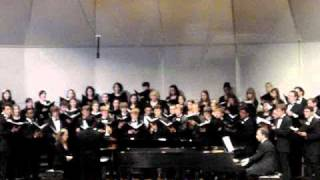 UT Concert Choir  - Holiday Concert 2010 - Overture to Christmas/Composer- Donald Patriquin
