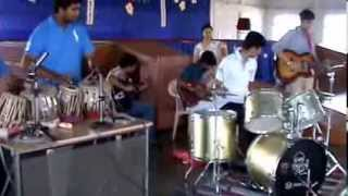 Delhi Public School Harni (DPSH) music band on teachers day.
